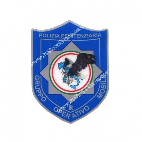 Scudetto GOM Gruppo Operativo Mobile Penitenziaria