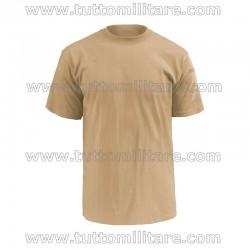 T-Shirt Kaki Esercito Maniche Corte