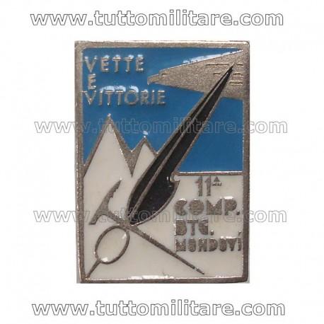 Distintivo 11 Compagnia Battaglione Alpini Mondovì