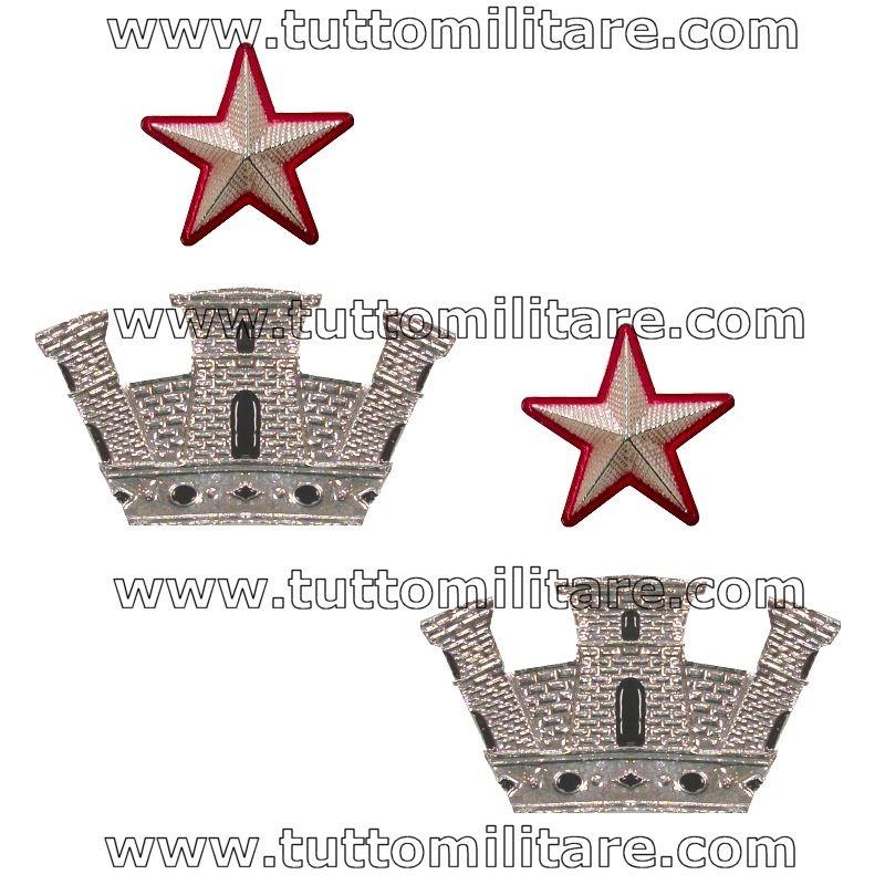 Gradi Metallo Commissario Capo Comandante Reparto Penitenziaria acd947b5a3e2