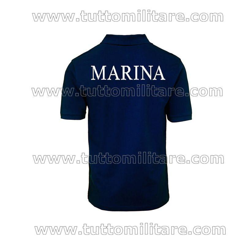 c8f1ddad1ebcfd Polo Marina Militare Blu