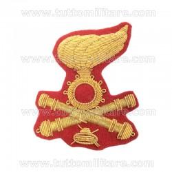 Fregio Comandante Artiglieria Corazzata Berretto