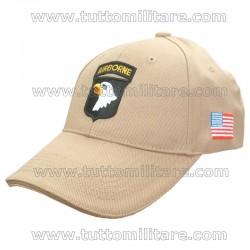 Cappellino 101 Airborne TAN