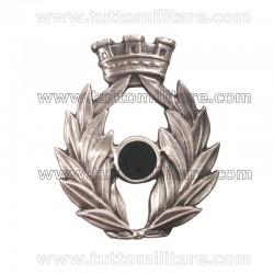 Fregio Metallo Basco Amministrazione Esercito