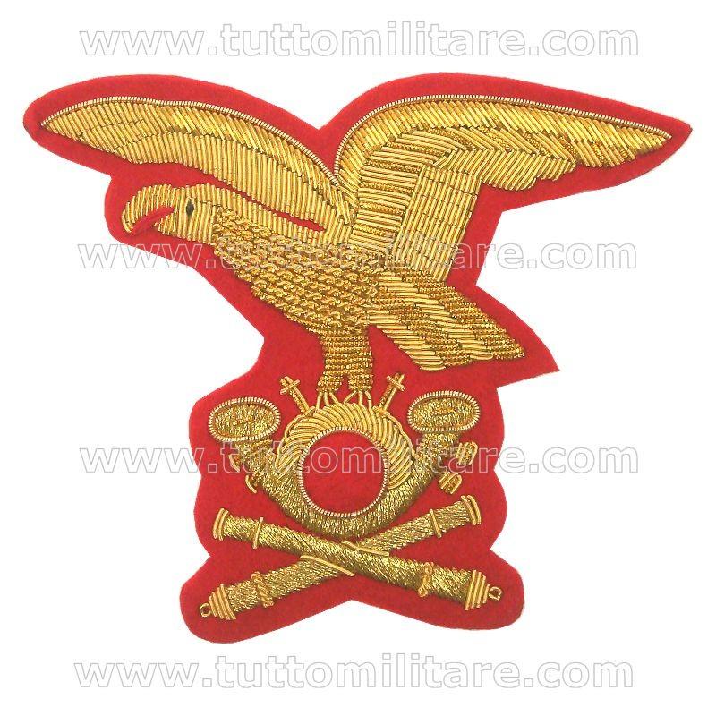 Fregio Ricamato Cappello Alpino Comandante Artiglieria Alpina c583fc215fbf