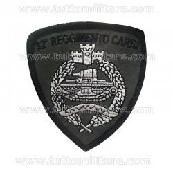 Scudetto Ricamato 32° Reggimento Carri