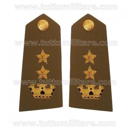Controspalline Ricamate Tenente Colonnello Esercito