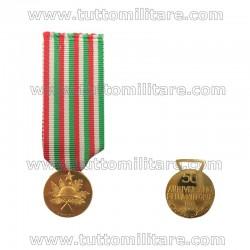 Medaglia Oro 50° Anniversario della Vittoria