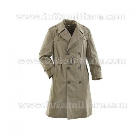 Cappotto Impermeabile Esercito Italiano con Cintura