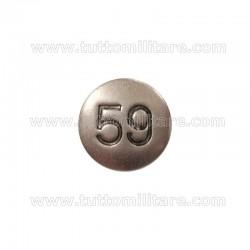 Pulce Numerale 59 Fregio Fanteria