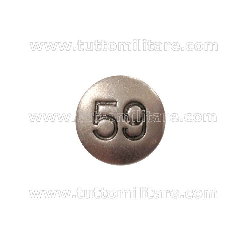 Pulce Numerale 59 Fregio Fanteria 16cbf24d08f6