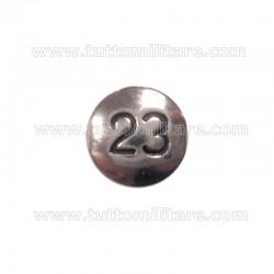 Pulce Numerale 23 Fregio Fanteria