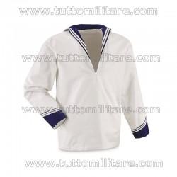 Camicia Marinaio Militare Estiva con Solino