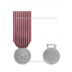 Medaglia Merito Servizo Polizia di Stato Argentata