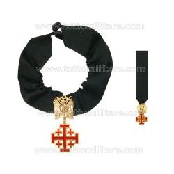 Croce Cavaliere Ordine Equestre Santo Sepolcro Gerusalemme