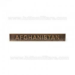 Fascetta Metallo Afghanistan Nato