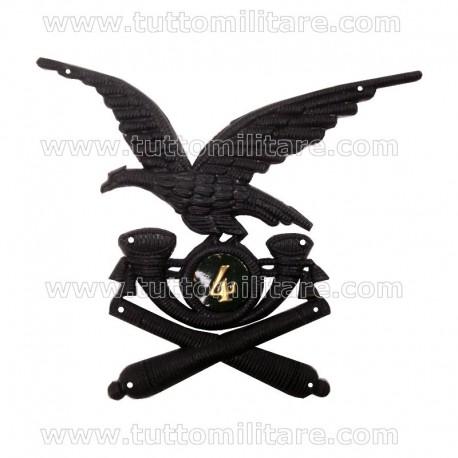 Fregio Plastica Truppa 4 Reggimento Artiglieria Alpina