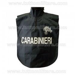Corpetto Carabinieri Nylon con Cappuccio e Zip