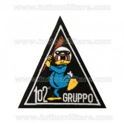 Scudetto 102° Gruppo Stormo Caccia Aeronautica