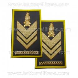 Tubolari Brigadiere Capo Guardia di Finanza
