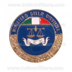 Placca Ministero Giustizia