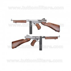 Fucile Softair Thompson M1A1 Silver