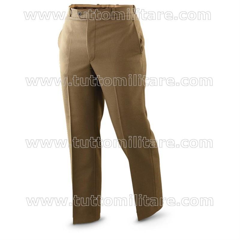 Pantaloni Militari Kaki Esercito Italiano 205af92d397a