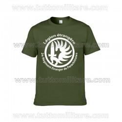 Tshirt Legione Straniera Francese Verde