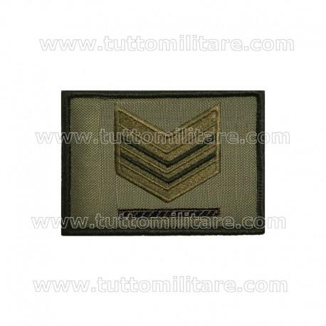 Grado Velcro Sergente Maggiore Capo Esercito