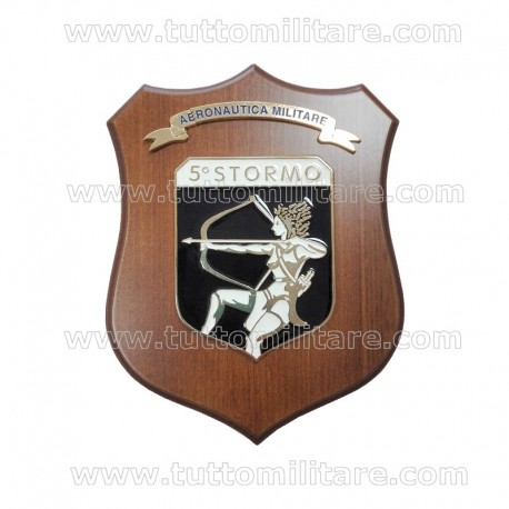 Crest 5° Stormo Aeronautica Militare