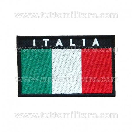 Patch Bandiera Italia con Velcro