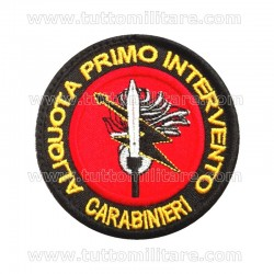 Patch First Responder Anti Terrorismo Primo Intervento Carabinieri Pisa