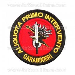 Patch First Responder Anti Terrorismo Primo Intervento Carabinieri Pisa