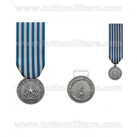Medaglia Argento Merito Lungo Comando GdF
