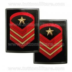 Gradi Metallo Caporal Maggiore Capo Scelto Qualifica Speciale EI