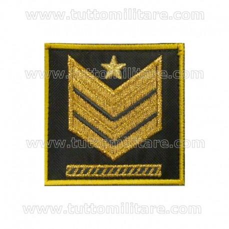 Grado Velcro Brigadiere Capo GdF Qualifica Speciale