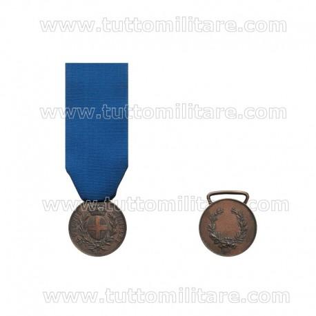 Medaglia Valore Militare Savoia Bronzo