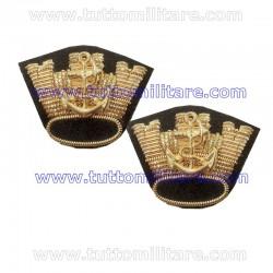 Corone Comandante Marina Mercantile