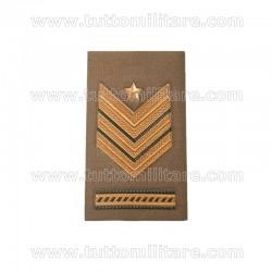 Tubolarino Sergente Maggiore Capo Scelto Qualifica Speciale Esercito