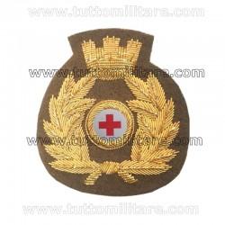 Fregio Ricamato Corpo Militare Croce Rossa