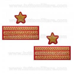Gradi Gala Luogotenente Esercito Guardia di Finanza