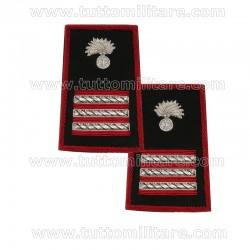 Tubolari Ricamati Aiutante Carabinieri