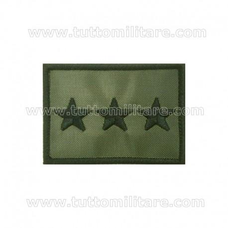 Grado Velcro Capitano Esercito