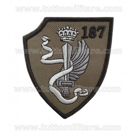 Scudetto 187° Reggimento Paracadutisti