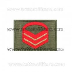 Grado Velcro Caporal Maggiore Capo Scelto