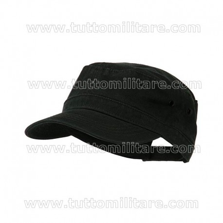 Atlantis Army Black Cap