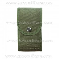 Porta Caricatori Doppio Cordura Verde 2 Posti
