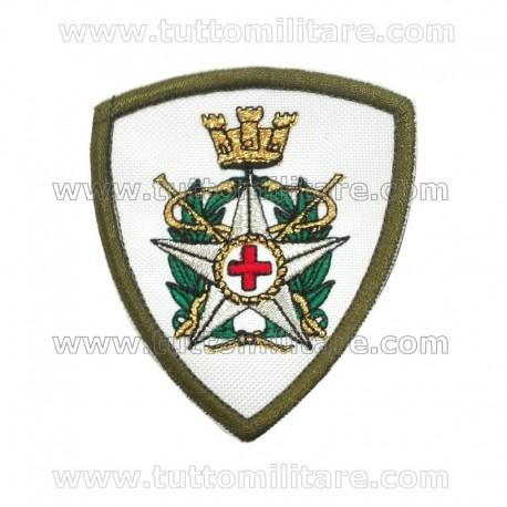 Scudetto Ricamato Corpo Militare Croce Rossa