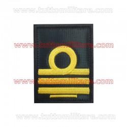 Qualifica Velcro Blu Primo Tenente di Vascello Marina Militare