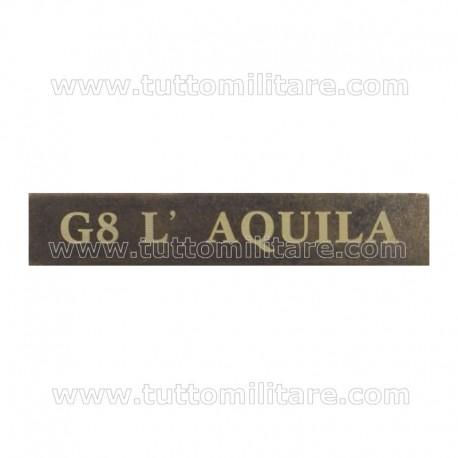 Fascetta G 8 L'AQUILA